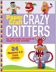 Paper Toy Crazy Critters (Papercraft, Origami)