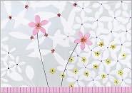 Jardin de Fleurs Note Cards Set of 14