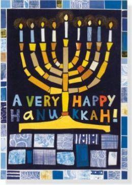 Hanukkah Mosaic Boxed Card