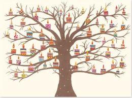 Tree Of Lights Christmas Boxed Card