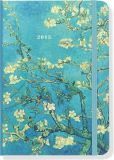 Book Cover Image. Title: 2015 Weekly Planner 5x7 Van Gogh Almond Tree Bound Engagement Calendar, Author: Punctuate