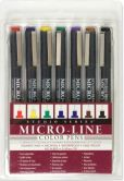 Product Image. Title: Studio Series Colored Micro Line Pen Set