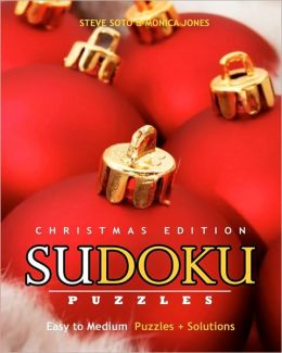 Sudoku Puzzles - Christmas Edition, Easy to Medium: Puzzles + Solutions