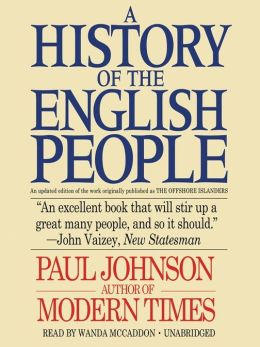 A History of the English People Paul Johnson