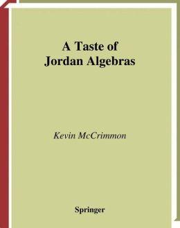 A Taste of Jordan Algebras