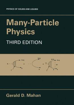 Many-Particle Physics