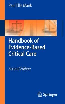 Handbook of Evidence-Based Critical Care