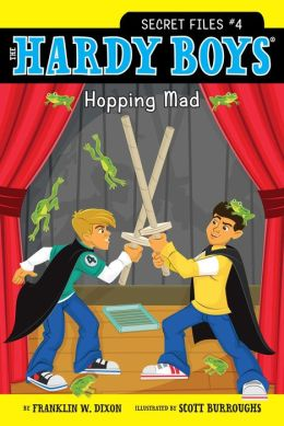 Hopping Mad (Hardy Boys Secret Files Series #4)