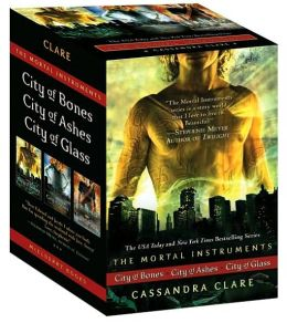 City of Bones / City of Ashes / City of Glass (The Mortal Instruments Series #1-3)