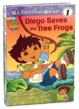 Nick Ready-to-Read Value Pack #5: Diego Saves the Tree Frogs; Go, Baby Jaguar!; Diego's Birthday Surprise; Giant Octopus to the Rescue; Great Roadrunner Race; Diego's Baby Polar Bear Rescue