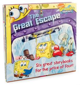 Nick 8x8 Value Pack #6: Amazing SpongeBobini; Vote for SpongeBob; The Great Escape; SpongeBob and the Princess; The Art Contest; Lost in Time