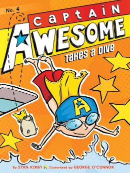 Captain Awesome Takes a Dive (Captain Awesome Series #4)