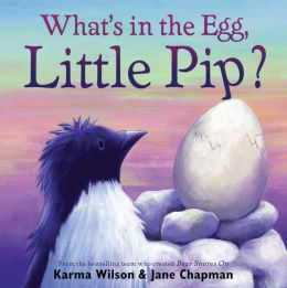 What's in the Egg, Little Pip?: with audio recording