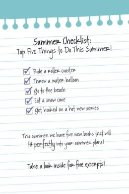 Summer of Firsts: Free Middle-Grade eSampler