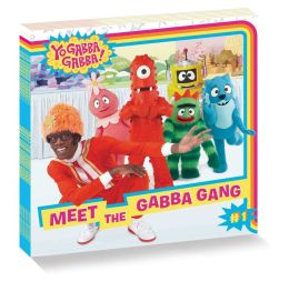 Yo Gabba Gabba 8 x 8 Value Pack: Baby Teeth Fall Out, Big Teeth Grow!; It's Nice to Be Nice!; It's Nice to Meet You; Let's Get Cleany-Clean!; Meet the Gabba Gang; Let's Use Our Imaginations!