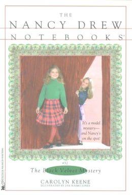 The Black Velvet Mystery (Nancy Drew Notebooks Series #32)