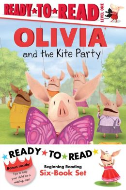 Olivia Ready-to-Read Value Pack #2: Olivia and the Kite Party; Olivia and the Rain Dance; Olivia Becomes a Vet; Olivia Builds a House; Olivia Measures Up; Olivia Trains Her Cat