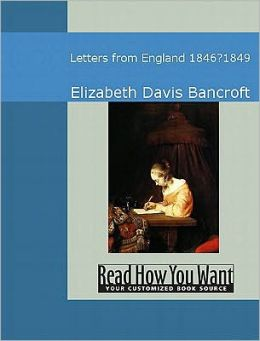 Letters from England: 18466?û?