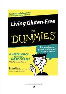 Living Gluten-Free For Dummies (Large Print 16pt)