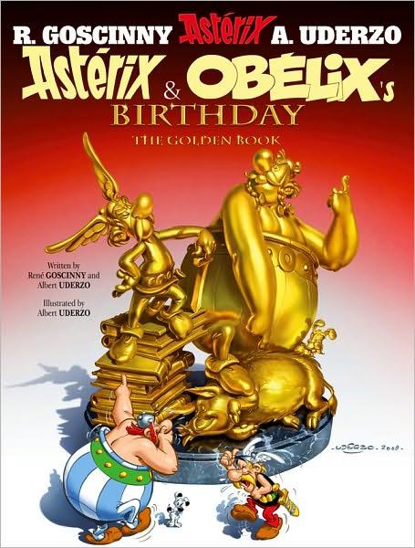 Asterix & Obelix's Birthday: The Golden Book - Album #34