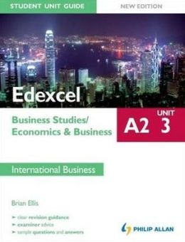 Edexcel A2 Business Studies