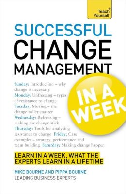 Successful Change Management In a Week A Teach Yourself Guide