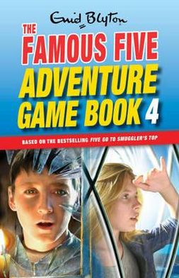 The Famous Five Adventure Game Book 4.