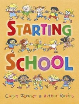 Starting School. Caryn Jenner & Arthur Robins