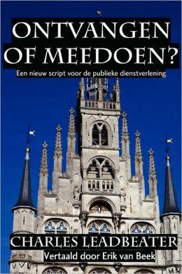 Ontvangen of Meedoen?