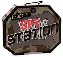Boy Stuff Spy Station Book and Play Set