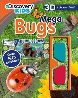 Busy Bugs: Discovery Kids 3D-Sticker Fun!