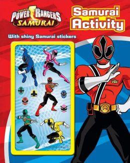 Power Rangers Activity Book with Covermount Samuari Activity