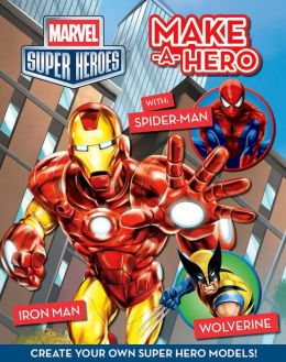 Marvel Make a Hero Super Heroes