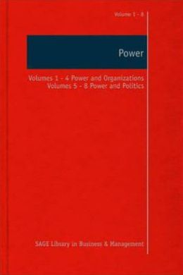 Power: Collection: Power and Organizations Power and Politics