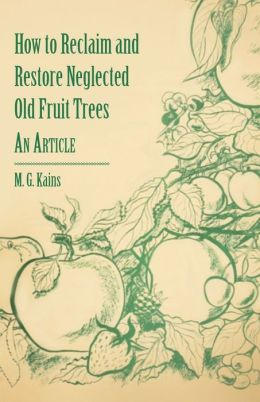 How To Reclaim And Restore Neglected Old Fruit Trees - An Article