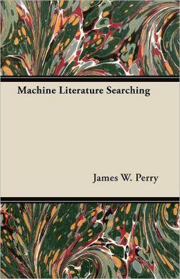 Machine Literature Searching