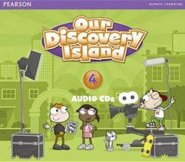 Our Discovery Island 2013 Audio Cd Level 4