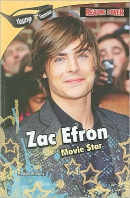 Zac Efron: Movie Star (Reading Power: Young and Famous Series)