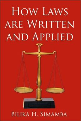 How Laws Are Written And Applied