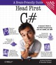 Book Cover Image. Title: Head First C#, Author: Jennifer Greene
