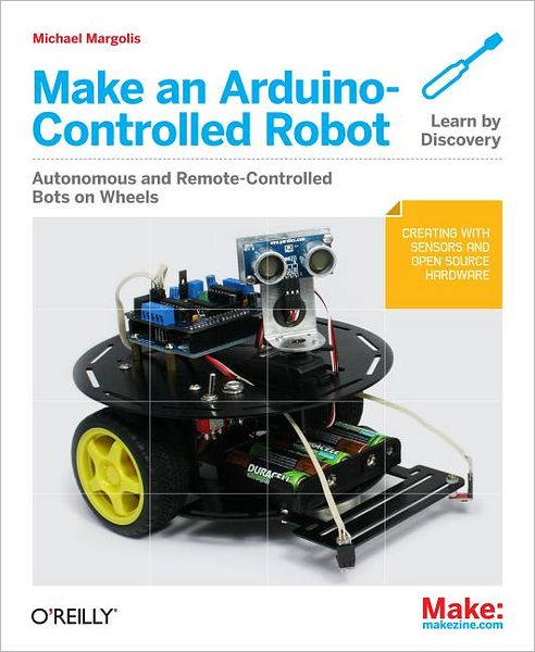 Free mp3 audiobooks for downloading Make an Arduino-Controlled Robot 9781449344375