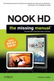 Book Cover Image. Title: NOOK HD:  The Missing Manual, Author: Preston Gralla