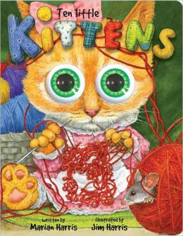 Ten Little Kittens: Board Book (Eyeball Animation Series)