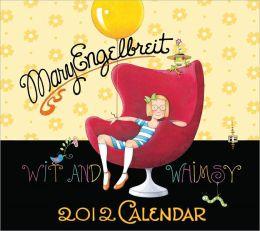 2012 Mary Engelbreit Wit and Whimsy of Mary Engelbreit Wall Calendar