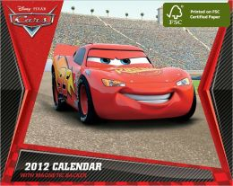 2012 Disney Cars Mini Box Calendar