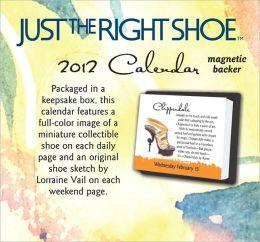 2012 Just the Right Shoe Mini Box Calendar
