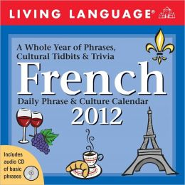 2012 Living Language: French Box Calendar