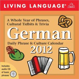 2012 Living Language: German Box Calendar