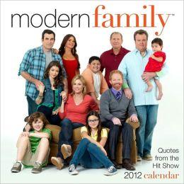 2012 Modern Family Box Calendar