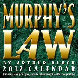 2012 Murphy's Law Box Calendar
